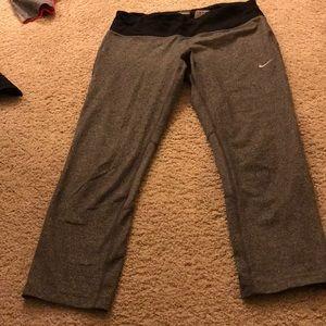 Nike gray workout pants